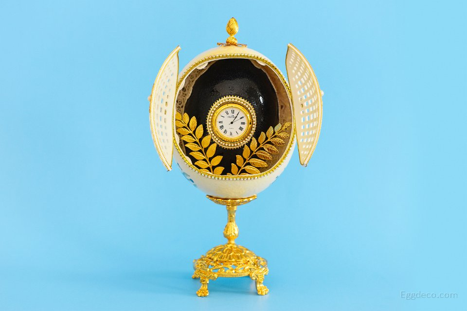 OSTRICH CLOCK (Open view)